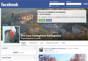 Pagina Facebook Pro Loco Castiglione
